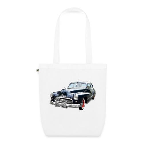 Classic Car. Buick zwart. - Bio stoffen tas