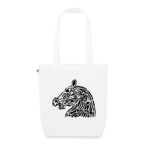 Horse - cheval tribal - Sac en tissu biologique