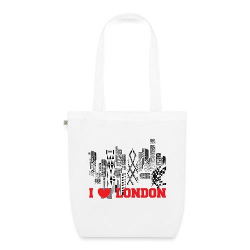 I LOVE LONDON SKYCRAPERS - Bolsa de tela ecológica