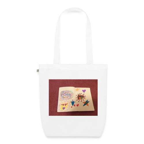 I am a Amster or Awesome Amy logo - EarthPositive Tote Bag