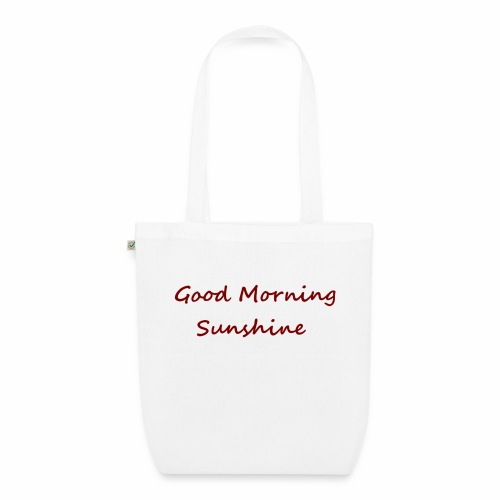 Good morning Sunshine - Bio stoffen tas