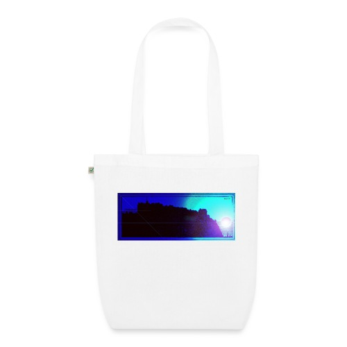 Silhouette of Edinburgh Castle - EarthPositive Tote Bag