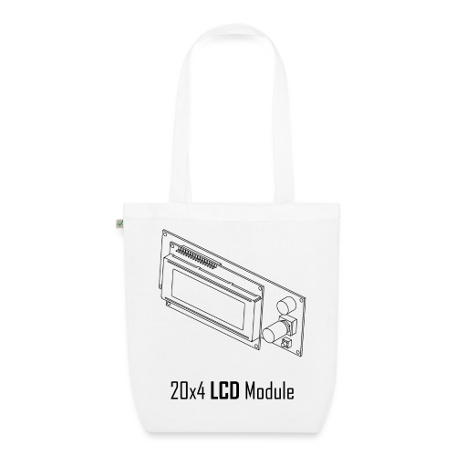 20x4 LCD Module - EarthPositive Tote Bag
