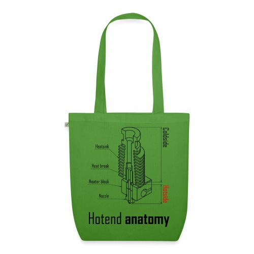 Hotend anatomy - EarthPositive Tote Bag