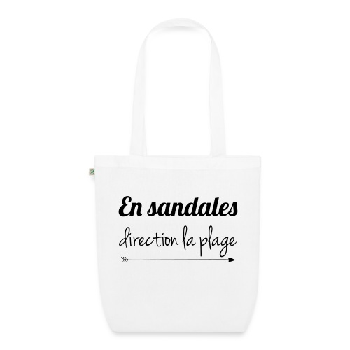 sandales-plage - Sac en tissu biologique