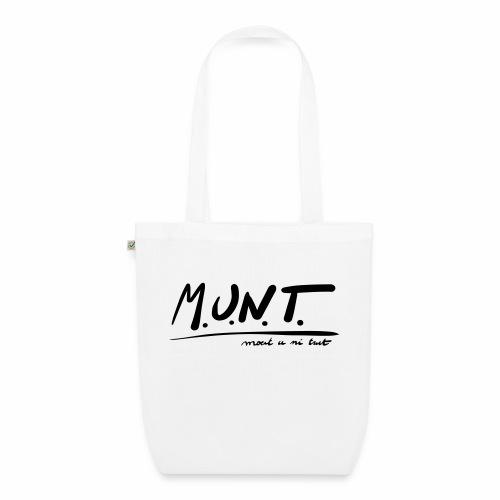 Munt - Bio stoffen tas