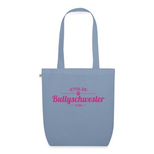 Bullyschwester Wunschname - Bio-Stoffbeutel