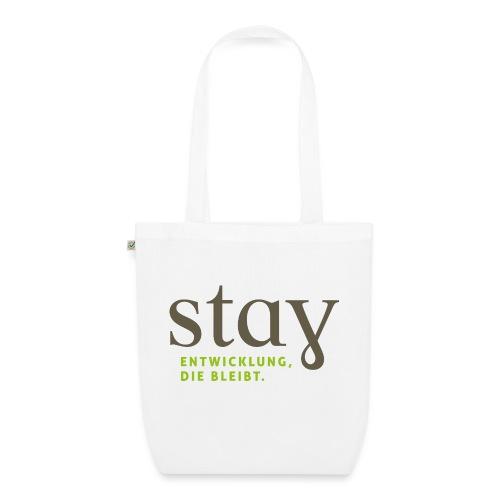 Stay_Grau_RGB - Bio-Stoffbeutel