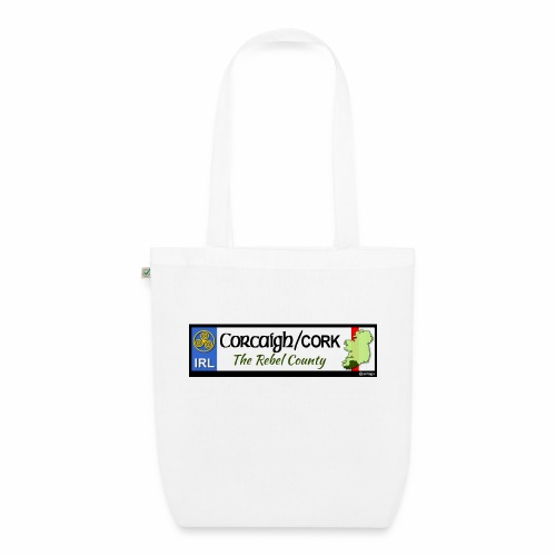 CO. CORK, IRELAND: licence plate tag style decal - EarthPositive Tote Bag