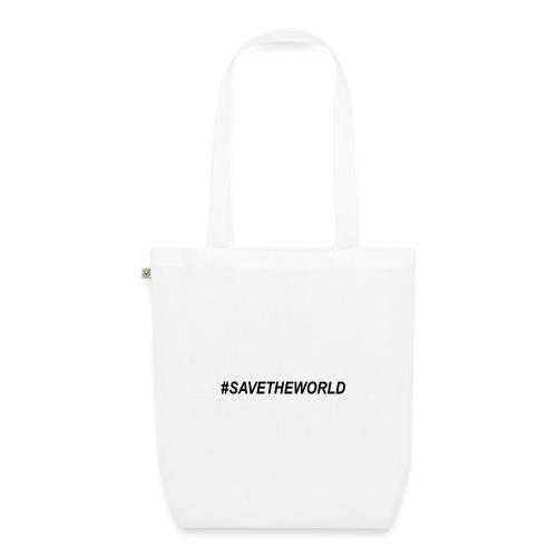 #SaveTheWorld - Ekologisk tygväska