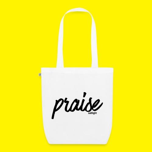 Praise (BLACK) - EarthPositive Tote Bag