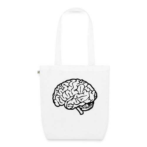 cerveau - Sac en tissu biologique