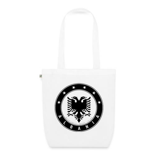Patrioti Albania Black - Bio-Stoffbeutel