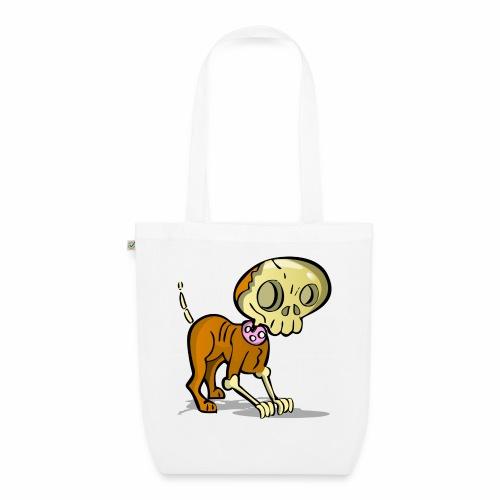perro zombie - Bolsa de tela ecológica