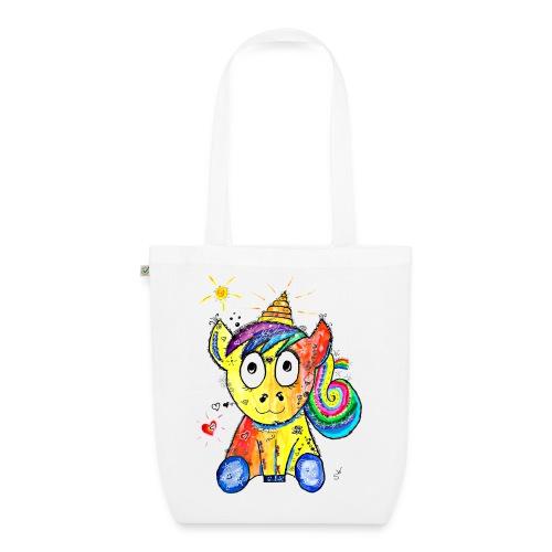 Happy Unicorn - Bio-Stoffbeutel