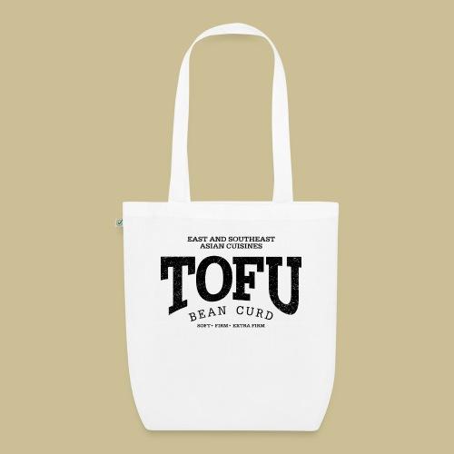 Tofu (black oldstyle) - Bio-Stoffbeutel