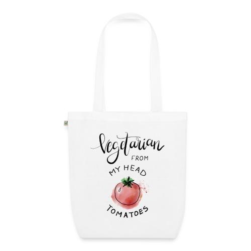 Vegan from my head Tomatoes - Bio-Stoffbeutel
