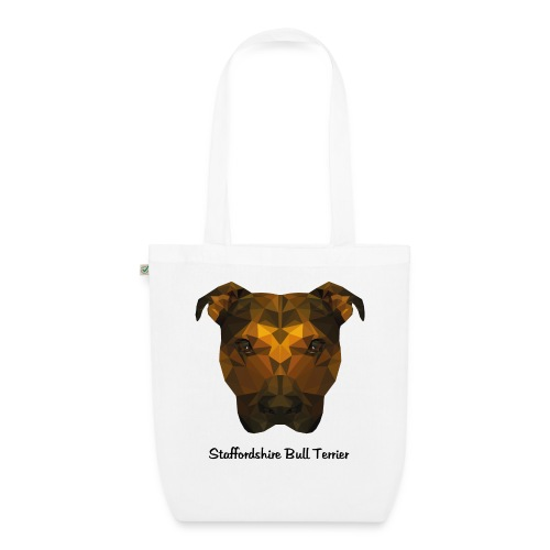 Staffordshire Bull Terrier - EarthPositive Tote Bag