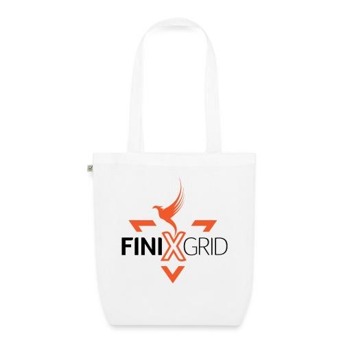 FinixGrid Orange - EarthPositive Tote Bag