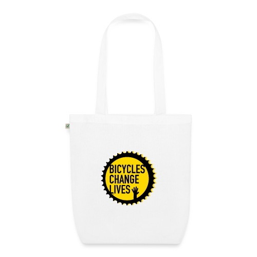 BCL Shirt Back White - EarthPositive Tote Bag