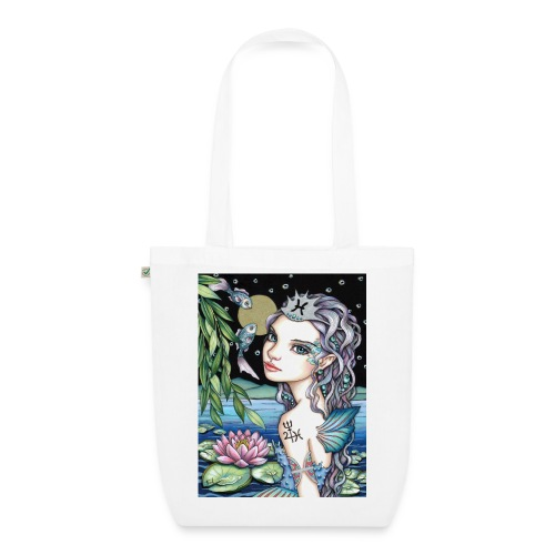 Pisces girl Fische Mädchen - EarthPositive Tote Bag