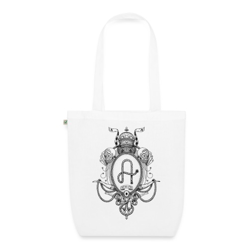 fabcl logo 02 black - EarthPositive Tote Bag