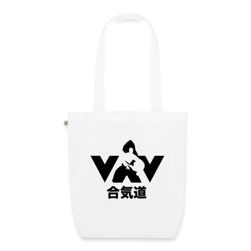 aikido zwart - Bio stoffen tas