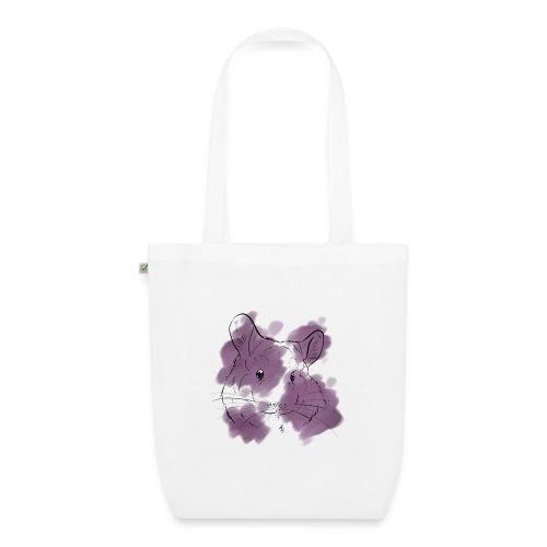 Violet splash chinchilla - Luomu-kangaskassi