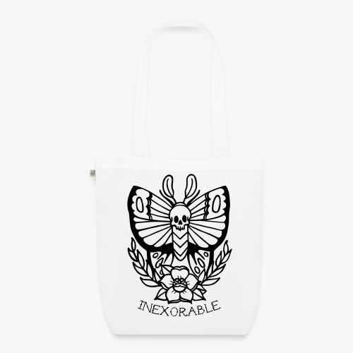 Traditional Tattoo Moth - EarthPositive Tote Bag