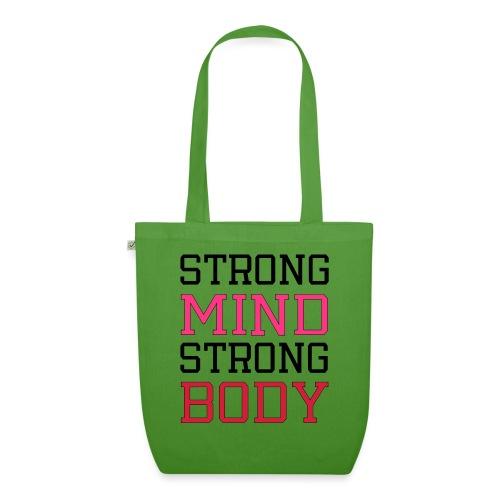 strong mind strong body - Øko-stoftaske