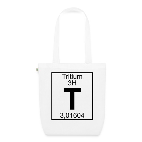 T (tritium) - Element 3H - pfll - EarthPositive Tote Bag