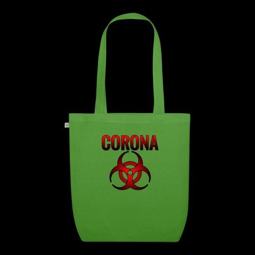 Corona Virus CORONA Pandemie - Bio-Stoffbeutel
