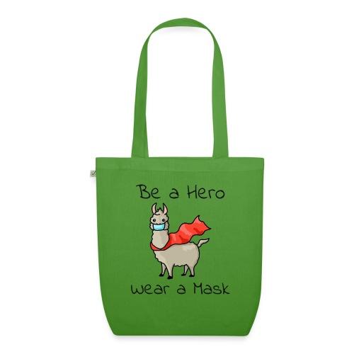 Sei ein Held, trag eine Maske! - Bio-Stoffbeutel