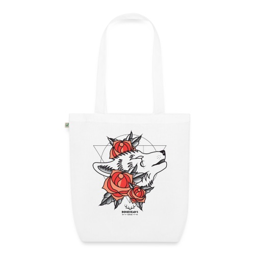 Wolfhead - EarthPositive Tote Bag