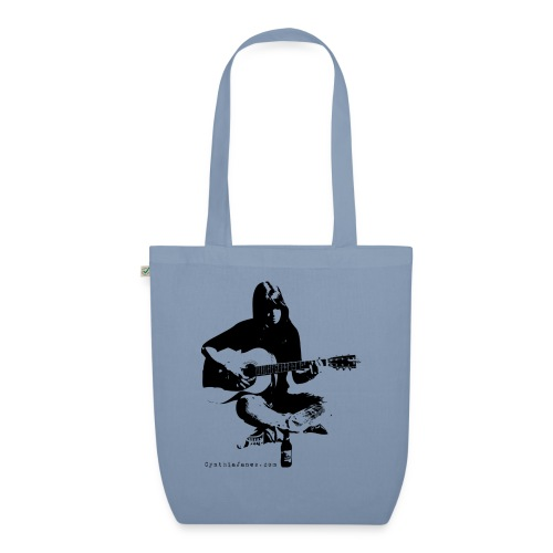 Cynthia Janes guitar BLACK - EarthPositive Tote Bag