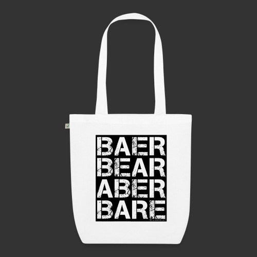 BEAR BARE is your own fun - Bio-Stoffbeutel
