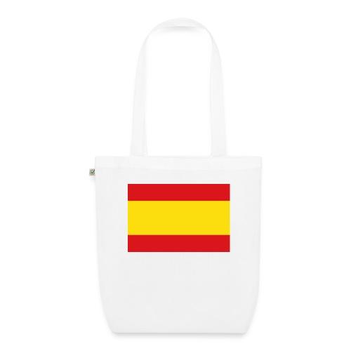 vlag van spanje - Bio stoffen tas