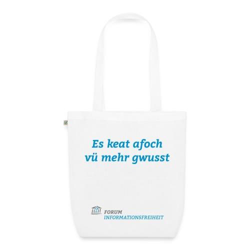 Logo Forum Informationsfreiheit - Bio-Stoffbeutel