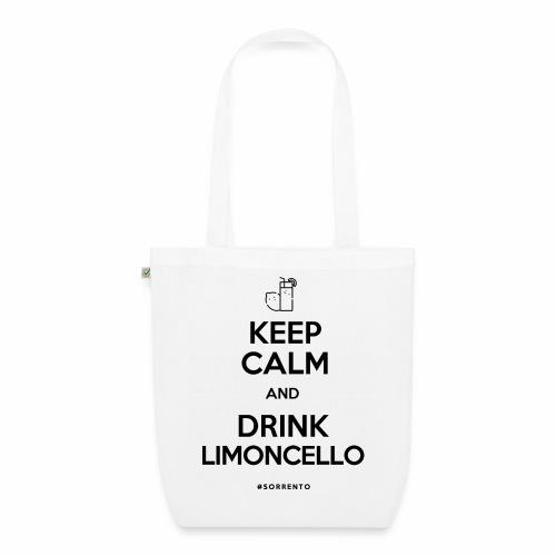 Restez calme et buvez du Limoncello - Sac en tissu biologique