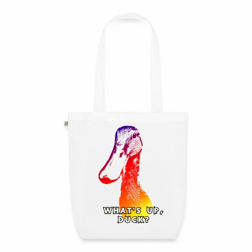 what's up duck - Color - EarthPositive Tote Bag