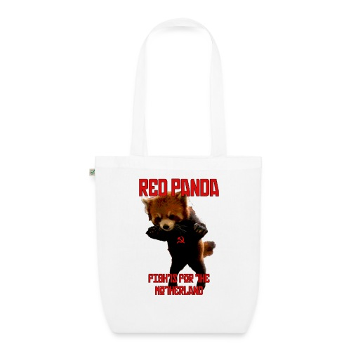 Red Panda Fights For The Motherland - EarthPositive Tote Bag