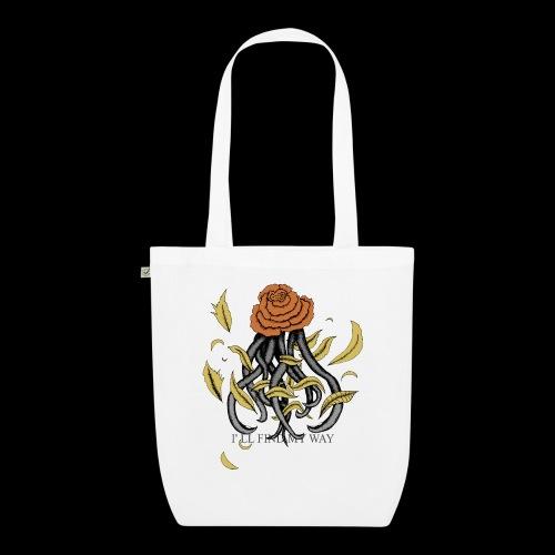 Rose octopus - Sac en tissu biologique