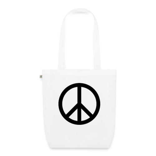 Peace Teken - Bio stoffen tas