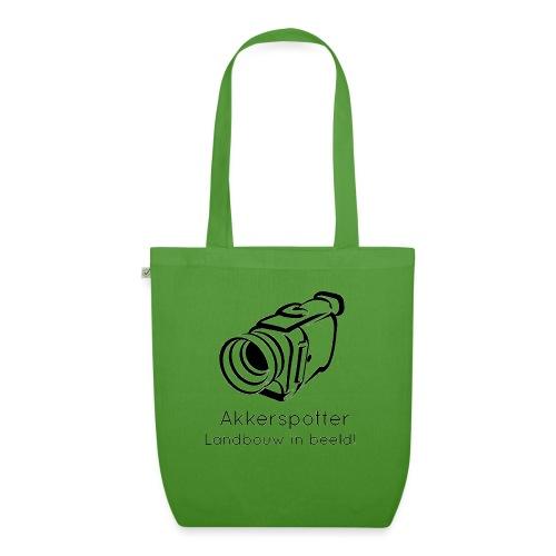 Logo akkerspotter - Bio stoffen tas