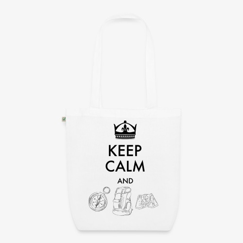 keepcalmandexplore - EarthPositive Tote Bag