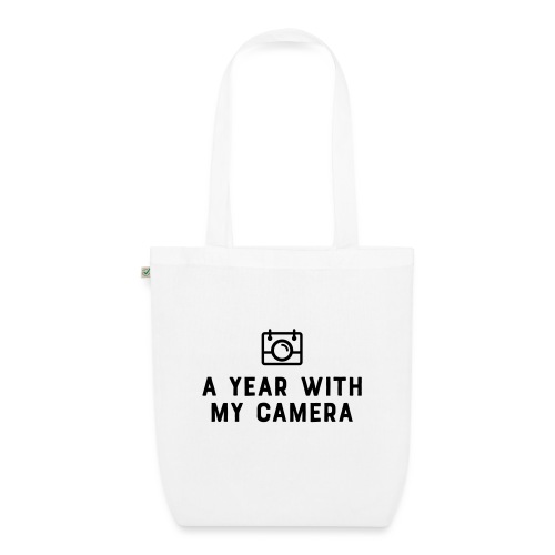 Charcoal AYWMC logo & text stacked - EarthPositive Tote Bag