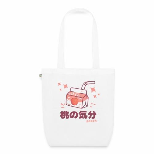 Kawaii Peach Mood Shirt - Bio-Stoffbeutel