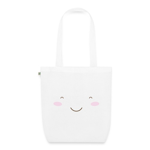 happy face - EarthPositive Tote Bag