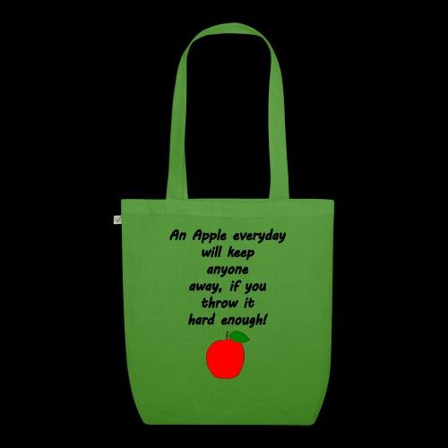 Apple Apfel Doctor Zitat Spruch Lustig - Bio-Stoffbeutel