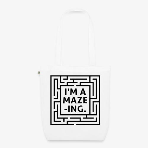 A maze -ING. Die Ingenieurs-Persönlichkeit. - Bio-Stoffbeutel